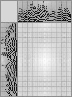 Japanese crossword «Maria Kulikova»