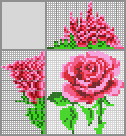 Japanese crossword «Rose»