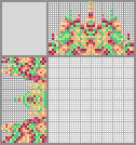 Japanese crossword «Flower mandala»