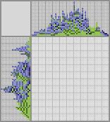 Japanese crossword «Lilac bells»