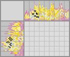 Japanese crossword «Yellow Tang»